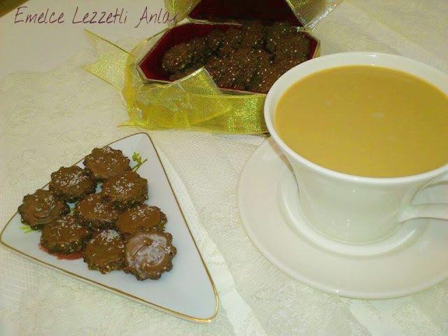 KİNOA'LI KAHVE KURABİYESİ ( Kahve ya da nescafe ile önerilir )