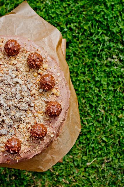 Ferrero Rocher torta / Ferrero Rocher cake