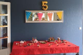 DIY anniversaire rois et princesses 5 ans