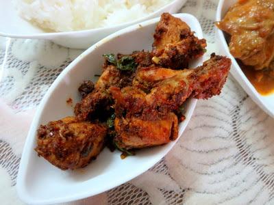 Chicken Varuval | Spicy Dry Fried Chicken Tamil Nadu Style