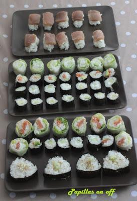 Organiser une soirée sushis maison