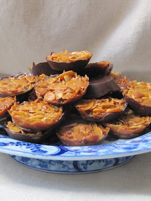 Florentins aux amandes et aux cacahuètes