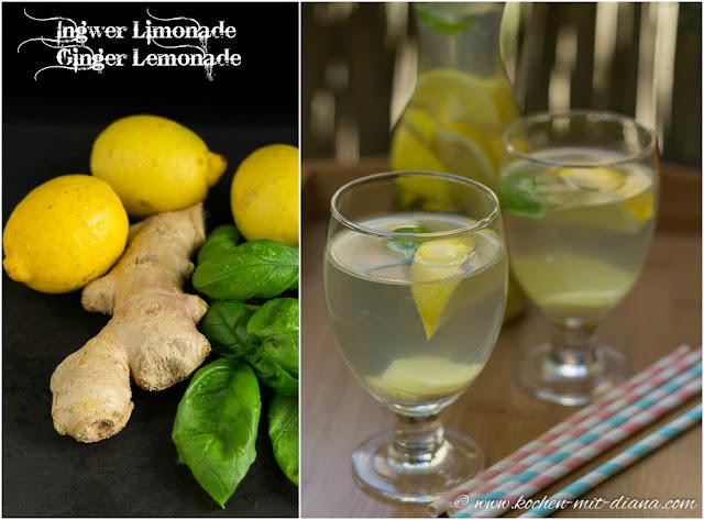 Ingwer Limonade/ Ginger lemonade