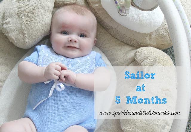 Sailor at 5 Months