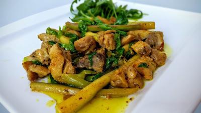 Piletina i povrce iz woka