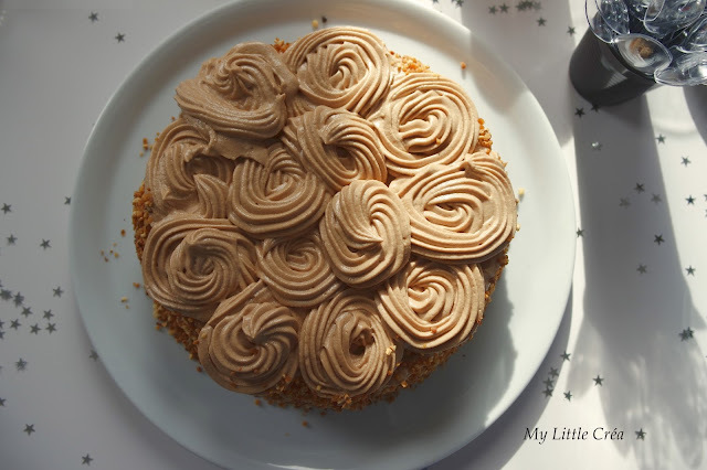 Gâteau au praliné #gâteaud'anniversaire