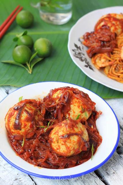 Recipe: Sambal telur (Malaysian Egg Sambal)