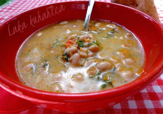 Varivo s mladim grahom :: Summer fresh pinto beans