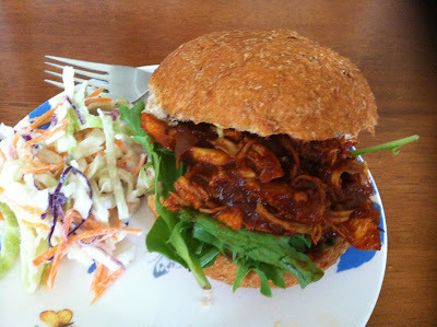 EwE - BBQ Pulled Chicken Sandwiches with Traditional Coleslaw - Indy 500 Lunchbox