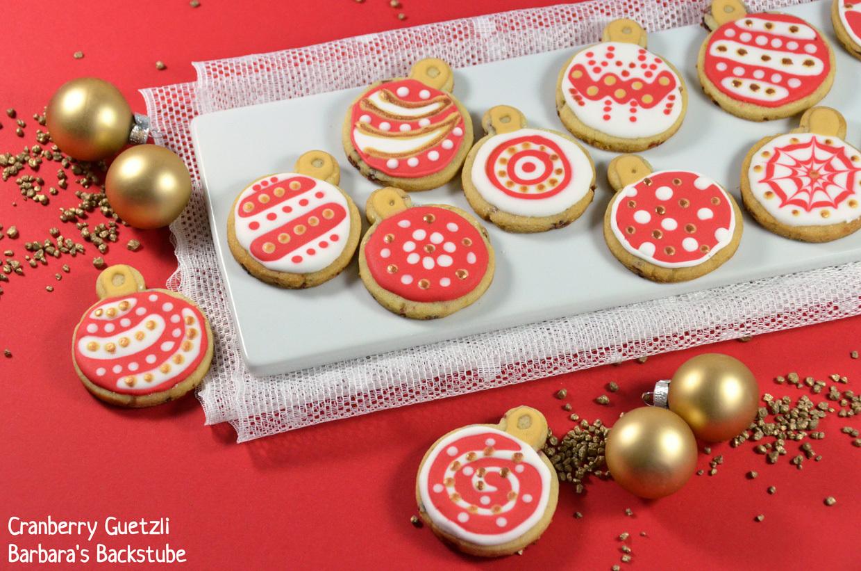 Cranberry Guetzli - und: Cupcake-Set von Kuhn Rikon zu gewinnen