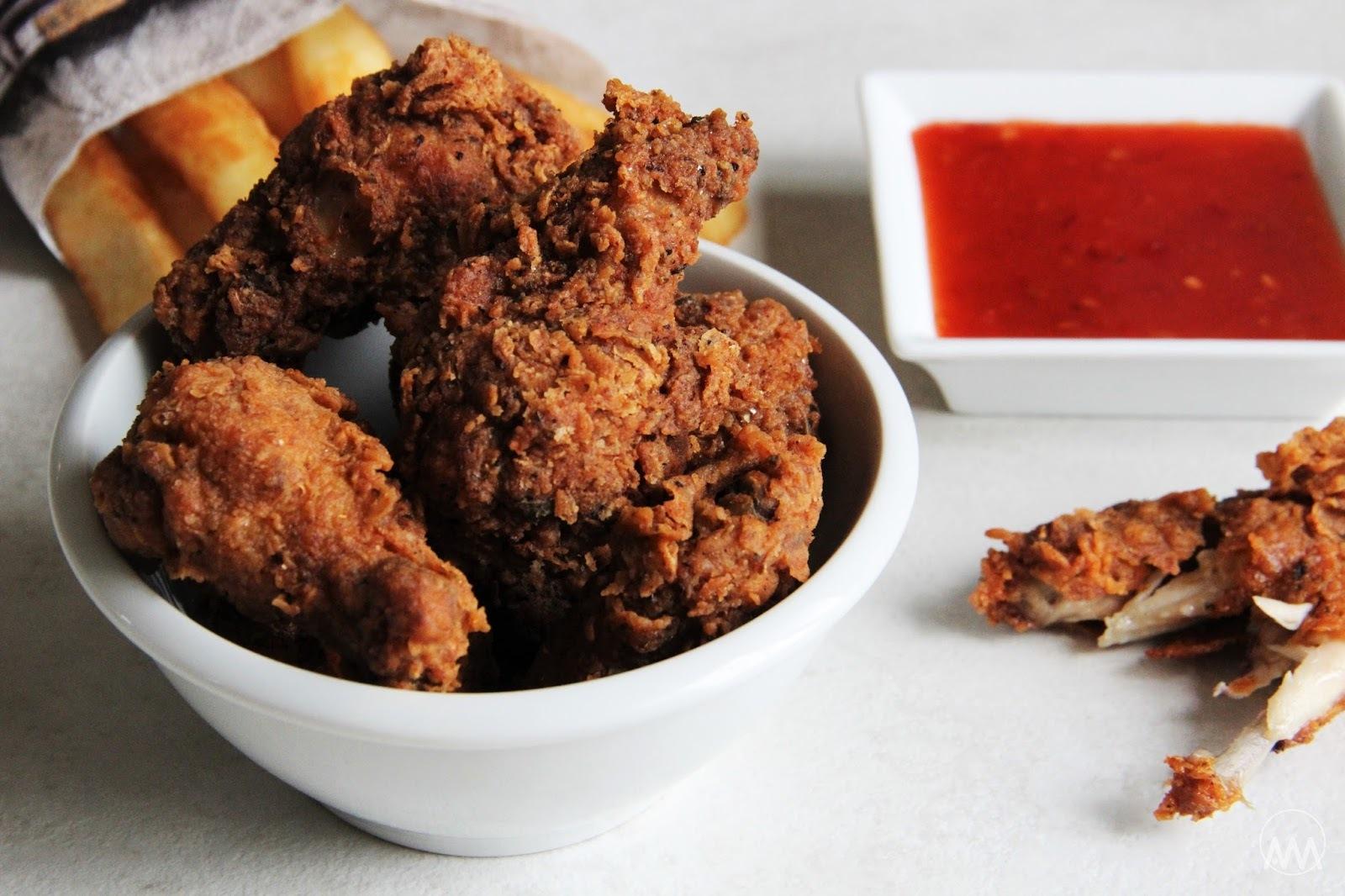 Hot wings - kuřecí křídla KFC