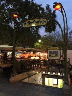 My adventure at a Parisian market