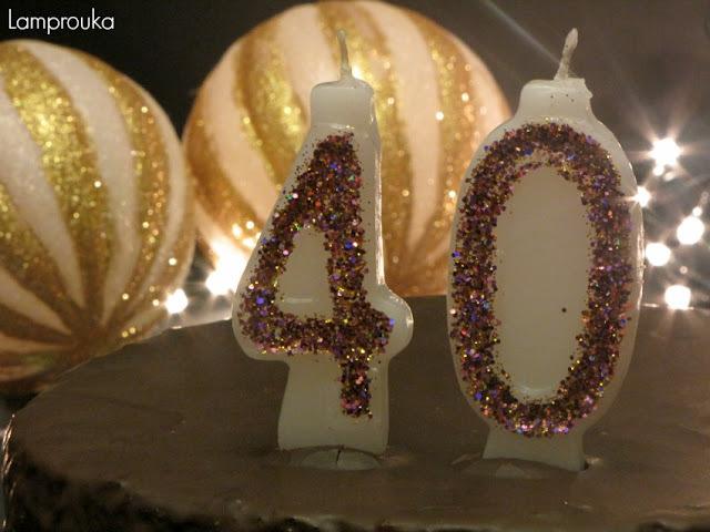 Sacher Torte για τα γενέθλιά μου.