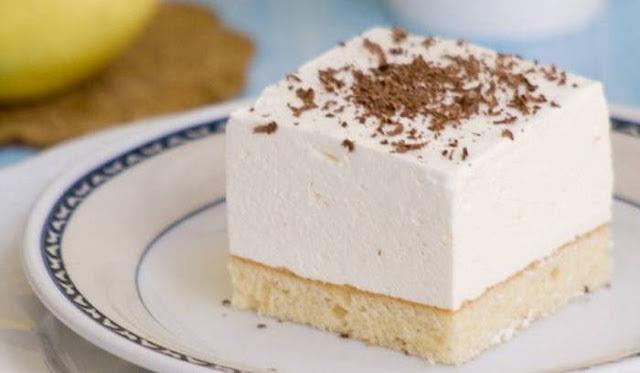 JOGURT KOCKE: Jednostavan kolač sa finom, savršeno pjenastom kremom
