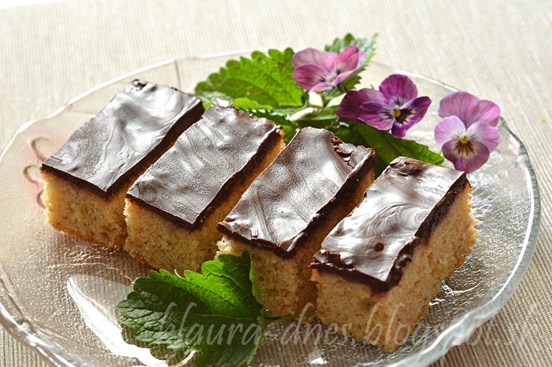 Šťavnatý rýchly jablkový koláč