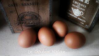 Monsieur Cuisine. .......ou pas, de petites petites omelettes en guise de mise en bouche,.