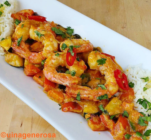 korma de gambes, o preparar plats orientals fàcils i sorprenents