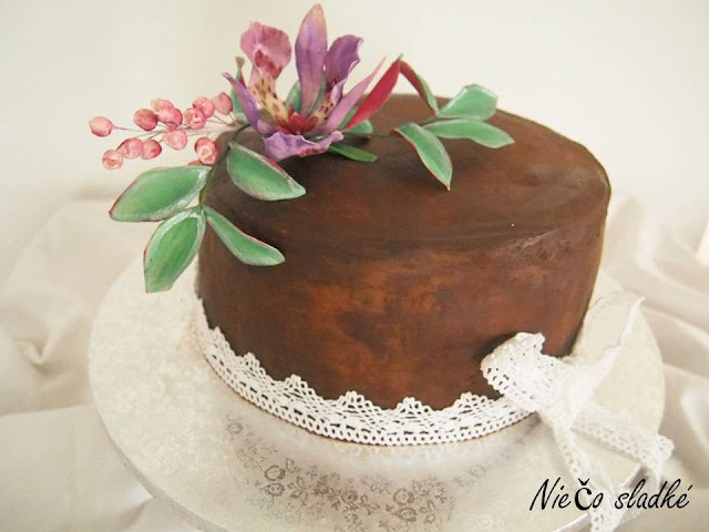 Torta s čoko ganache