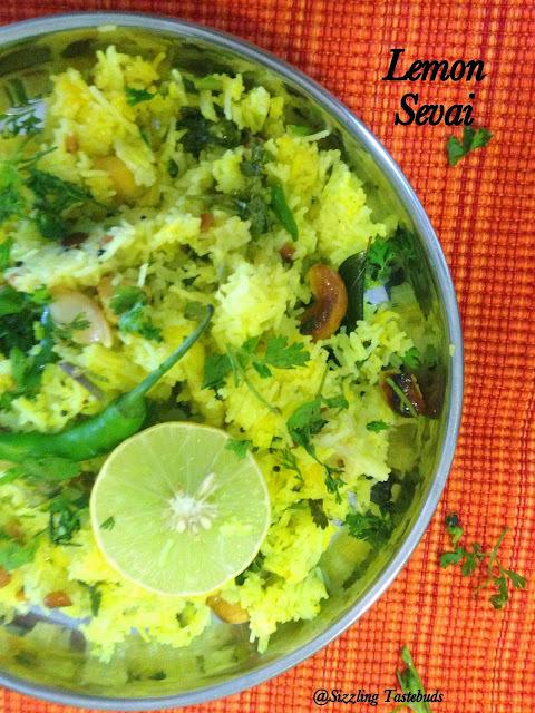 Lemon Sevai - Version 2 | Lemony string hoppers | Easy Breakfast ideas