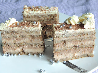 Super torta sa orasima i kremastim filom