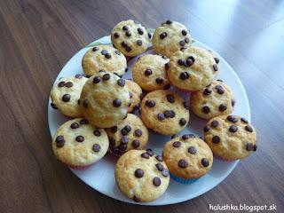 Nadýchané jogurtové muffiny