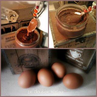 Monsieur Cuisine...... les crèmes au chocolat façon Danette...ou presque!