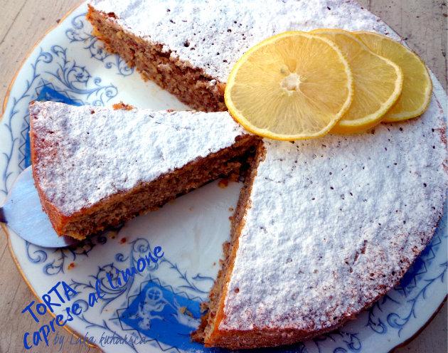 FBI rukavice: Torta Caprese od limuna i bijele čokolade :: Torta Caprese al Limone
