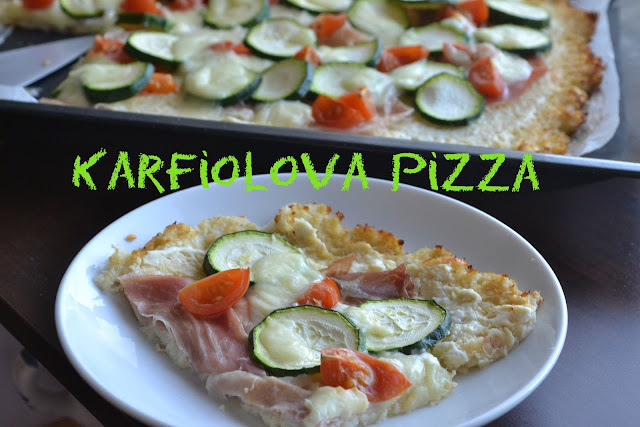 Karfiolová pizza.