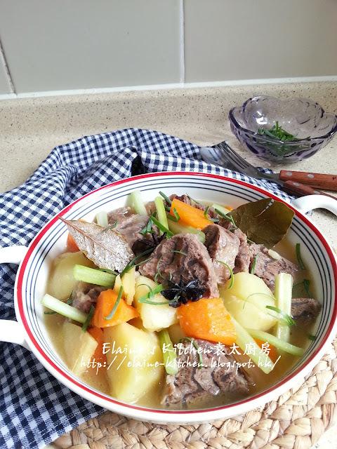 雜菜清湯炆牛展