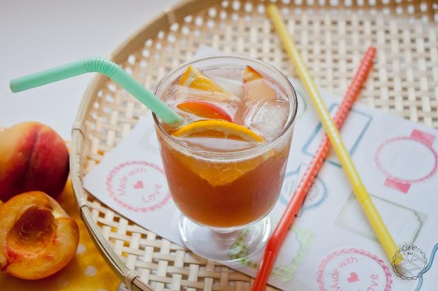 Ledeni čaj od breskve // Peach Ice Tea