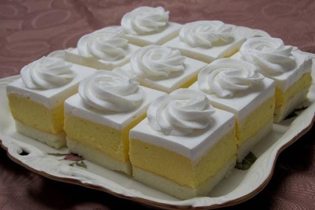 NAJBOLJE LEDENE KOCKE: Fini, osvježavajući kolač koji mnogi obožavaju