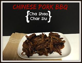 SRC: Chinese Pork BBQ {Cha Shao}