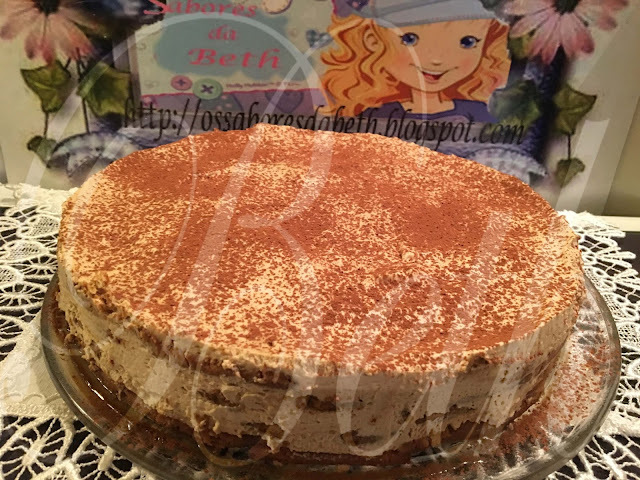 Gâteau au  Cappuccino / Bolo de Cappuccino