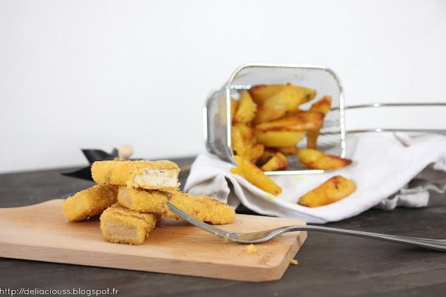 Le poisson pané sans poisson mais avec de la panure
