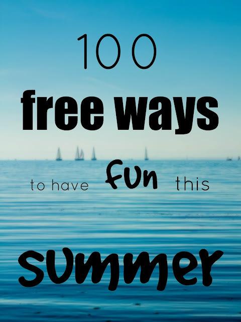 100 free ways to have fun this summer-100 δωρεάν τρόποι για διασκέδαση αυτό το καλοκαίρι