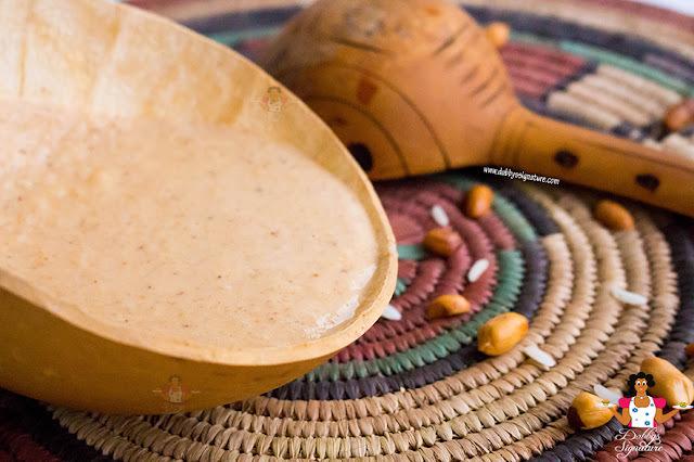Kunun gyada recipe - How to make rice and groundnut drink