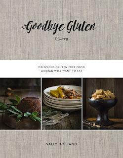New Goodbye Gluten recipe book available at Kiwicakes