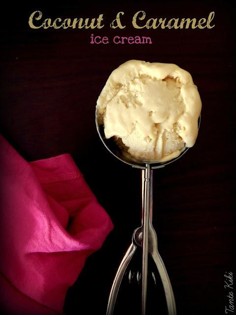 Παγωτό dulce de letche με 3 υλικά, χωρίς παγωτομηχανή