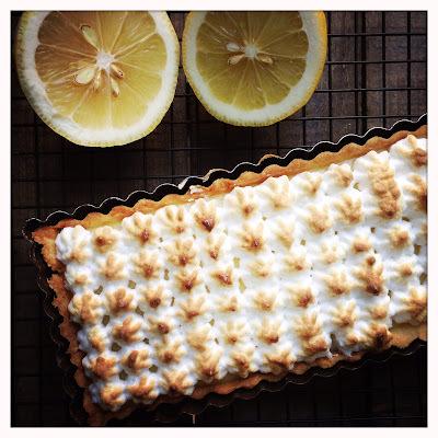 Ma tarte au citron meringuée (version CAP à J-8)