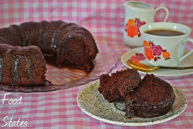 Κέικ σοκολάτας (υγρό και νηστίσιμο)