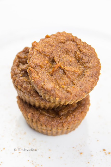 Muffins with Sweet Potatoes