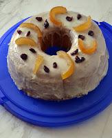 Αφράτο κέικ πορτοκάλι με γλάσο