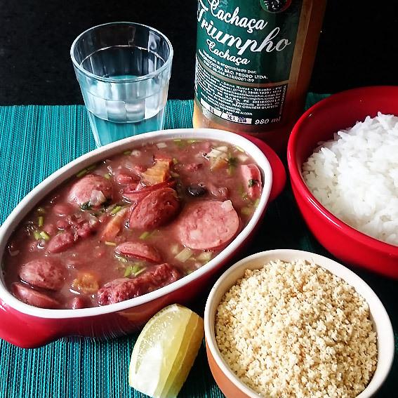 Feijão vermelho no jeito (preparo básico de feijão)