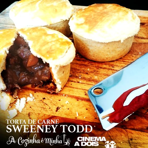 Torta de carne da Mrs Lovett – Sweeney Todd: o barbeiro demoníaco da Rua Fleet
