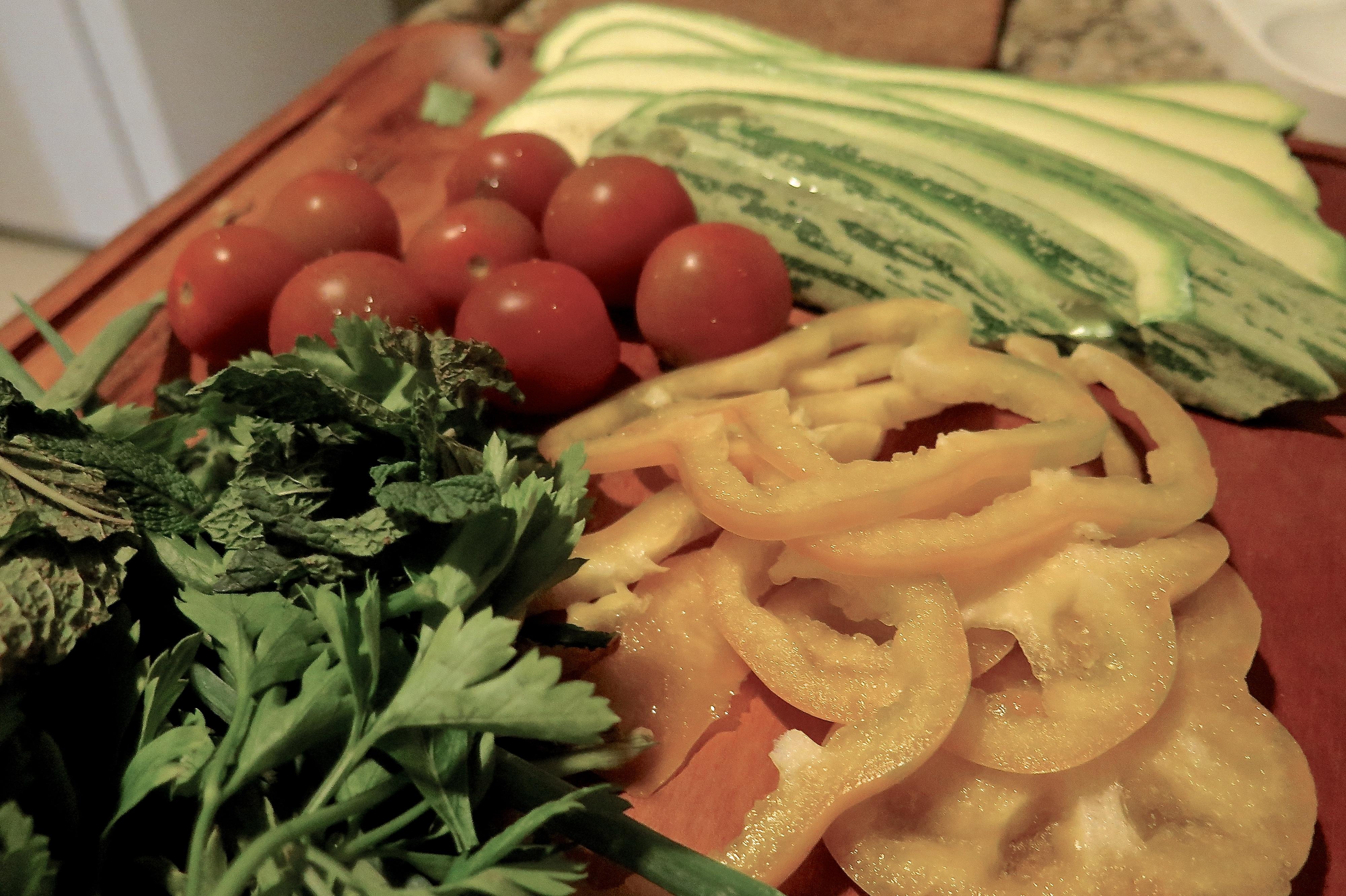 Sanduíche de Abobrinha, Queijo e Cebola Caramelizada.