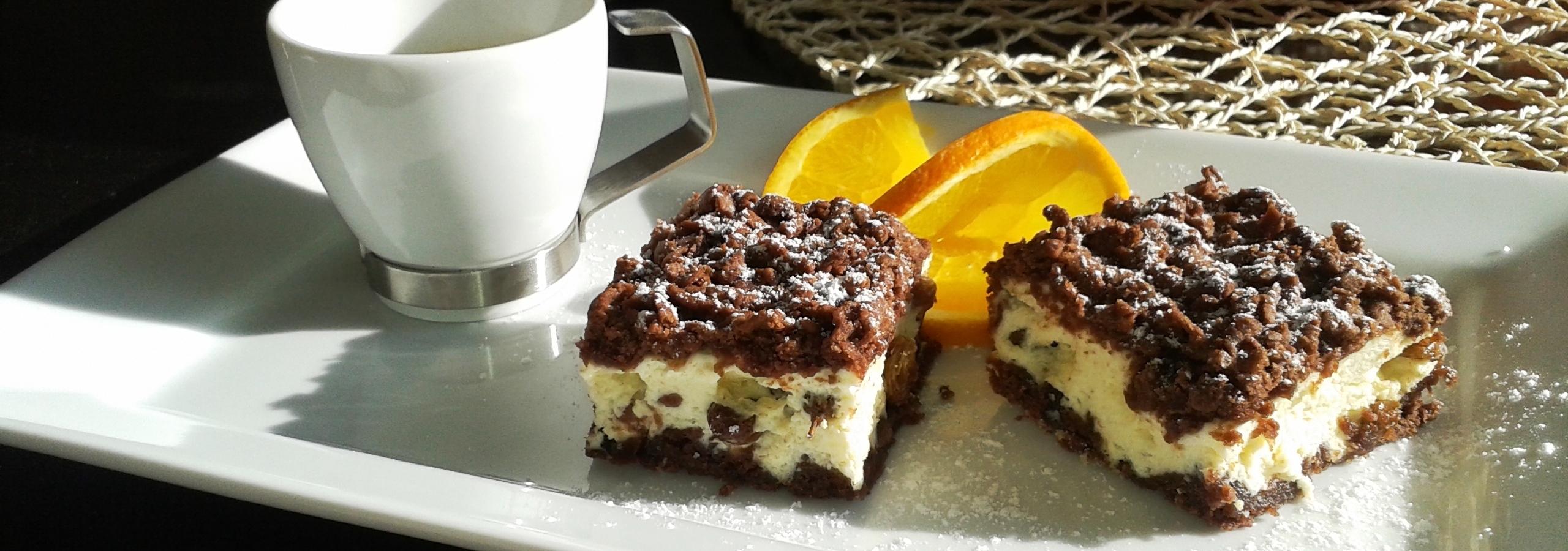 Ríbezľový koláč s tvarohom