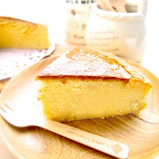 orange souffle cheesecake 香橙舒芙蕾乳酪蛋糕