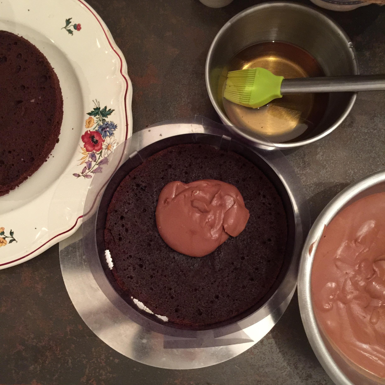 THE gâteau d'anniversaire au Chocolat