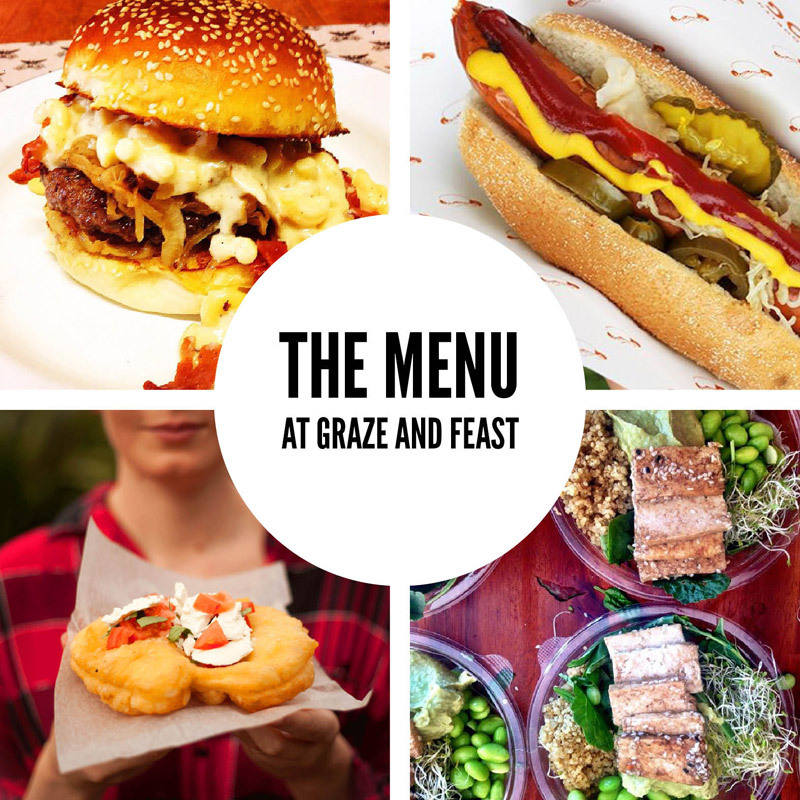 Graze and Feast – The Menu