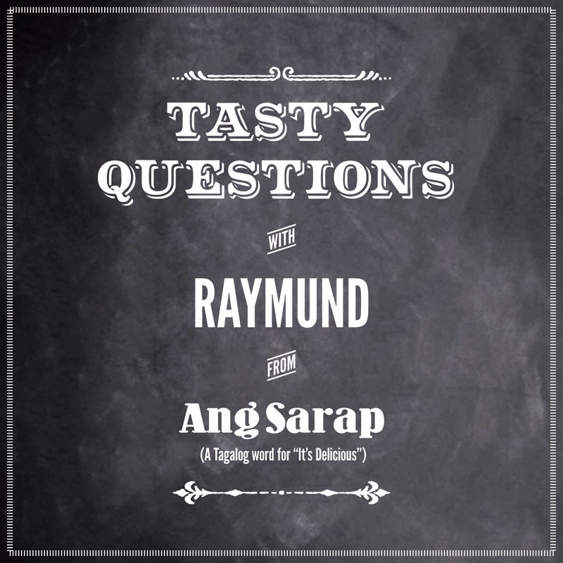 Tasty questions with Ang Sarap